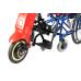 КеД-33 Крісло колісне з ручним та електричним управлінням триколісне